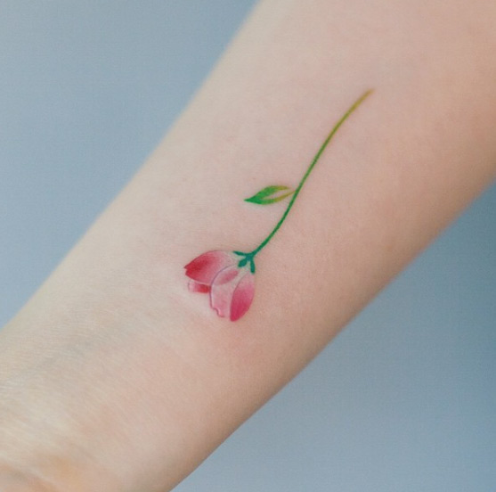 cute-flower-tattoo-design