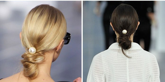 chanel-spring-summer-2013-runway-hair-pearl - копия